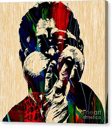 Dizzy Gillespie Collection Canvas Print