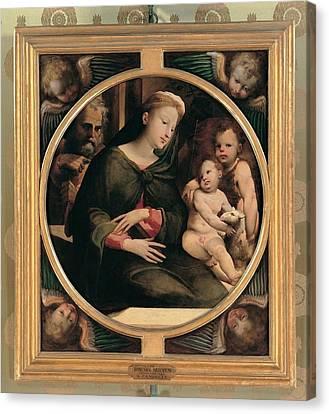Domenico Di Giacomo Di Pace Known Canvas Print