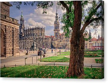 Dresden Canvas Print by Steffen Gierok