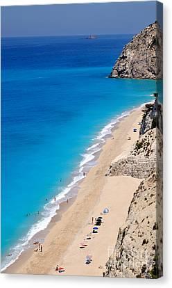 Egremni Beach Canvas Print