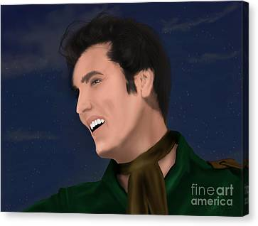 Elvis Presley    Loving You Canvas Print