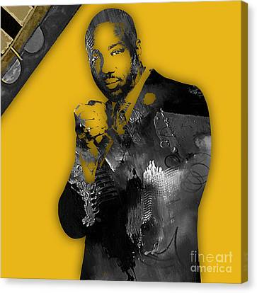 Empire's Malik Yoba Vernon Turner Canvas Print by Marvin Blaine
