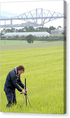Environmental Radiation Monitoring Canvas Print