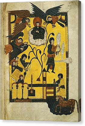 Escorial Beatus. 950 - 955. Cod & II Canvas Print