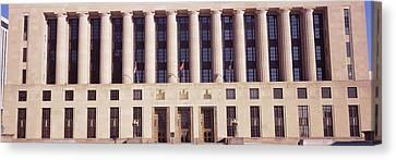 Facade Of A Government Building Canvas Print