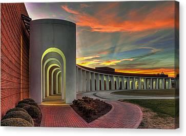 Ferguson Center For The Arts Canvas Print