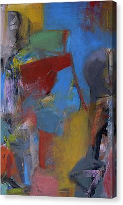 Figures Canvas Print by Fred Smilde