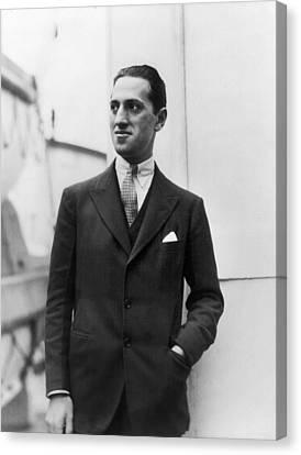 Gershwin Canvas Print - George Gershwin (1898-1937) by Granger