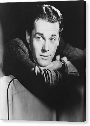 Henry Fonda Canvas Print by Silver Screen