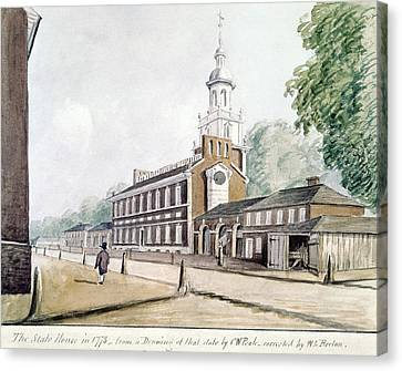 Independence Hall Canvas Print by Granger