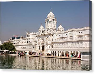 India, Punjab, Amritsar Canvas Print