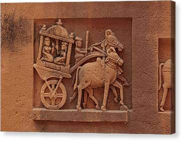 India, Rajasthan, Jaisalmer Canvas Print