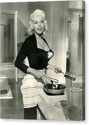 Mansfield Canvas Print - Jayne Mansfield by Retro Images Archive