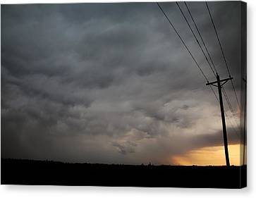 Let The Storm Season Begin Canvas Print