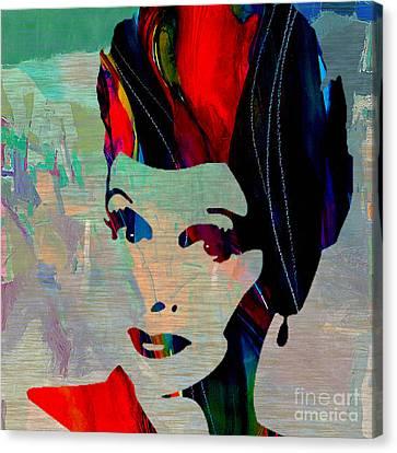 Lucille Ball Canvas Print by Marvin Blaine