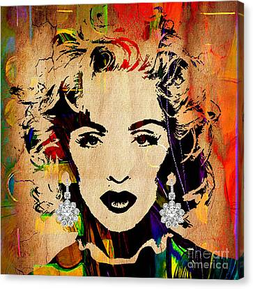 Madonna Collection Canvas Print