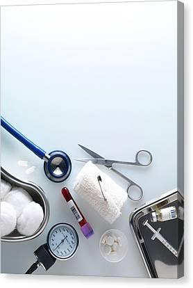 Medical Equipment Canvas Print by Tek Image