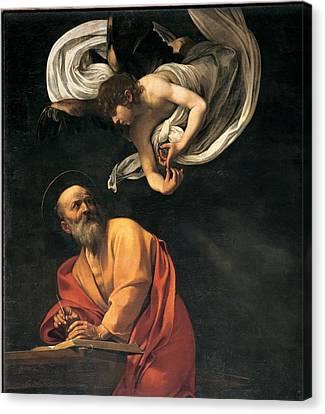 Merisi Michelangelo Known Canvas Print