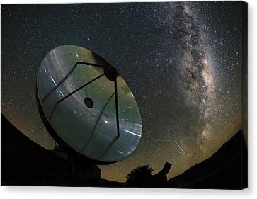 Milky Way Over La Silla Observatory Canvas Print