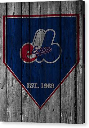 Montreal Expos Canvas Print by Joe Hamilton