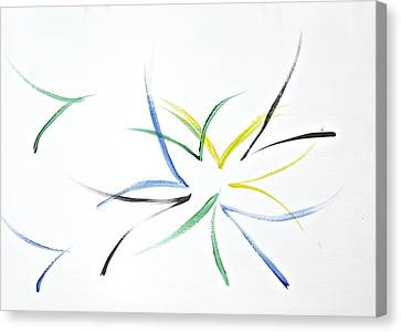 Canvas Print featuring the painting Simplicity by Tracey Myers