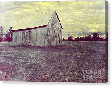 Old Barn Canvas Print by Sophie Vigneault