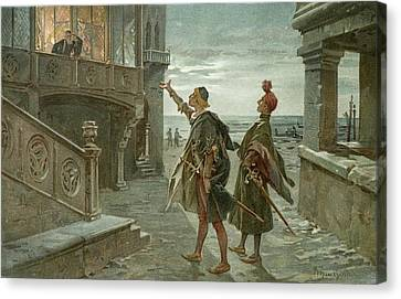 Othello. The Moor Of Venice Canvas Print by British Library