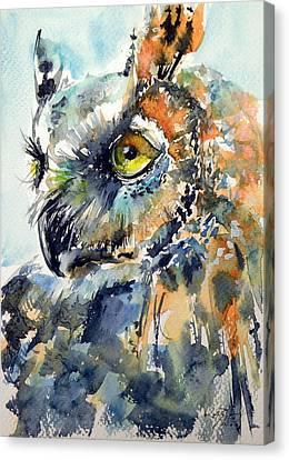 Owl Canvas Print by Kovacs Anna Brigitta