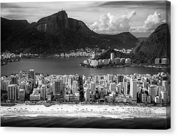 Rio De Janeiro City Canvas Print by Celso Diniz