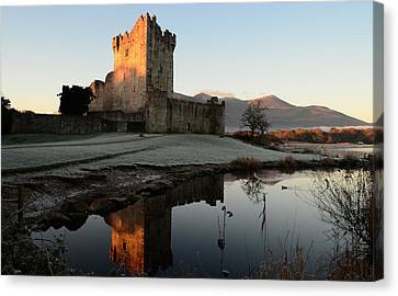 Ross Castle Canvas Print by Barbara Walsh