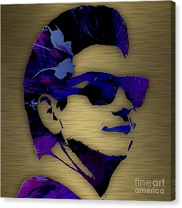 Roy Orbison Canvas Print - Roy Orbison Collection. by Marvin Blaine