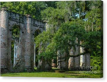Sheldon Church Landmark Canvas Print