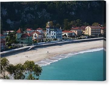 Verde River Canvas Print - Spain, Asturias Region, Asturias by Walter Bibikow