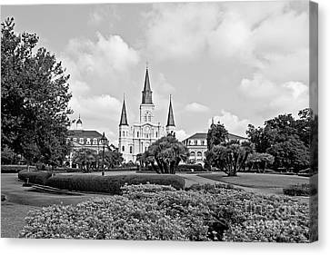 St. Louis Cathedral Canvas Print by Scott Pellegrin