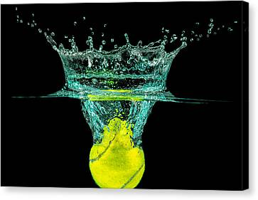 Tennis Ball Canvas Print