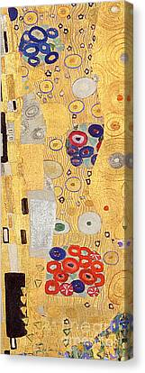 The Kiss Canvas Print - The Kiss by Gustav Klimt