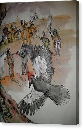 the last wars of NEZ PERCE album Canvas Print