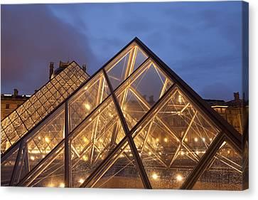 The Louvre Paris Canvas Print