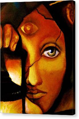 Mystic Art Canvas Print - The Seeker by Dalgis Edelson