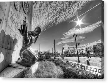 Hall Canvas Print - The Spirit Of Detroit by Twenty Two North Photography