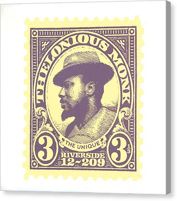 Thelonious Monk -  The Unique Thelonious Monk Canvas Print