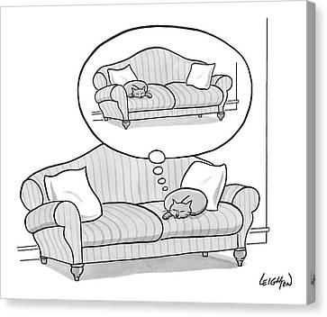 New Yorker November 6th, 2006 Canvas Print