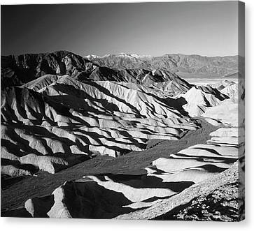 Usa, California, Death Valley National Canvas Print by Adam Jones