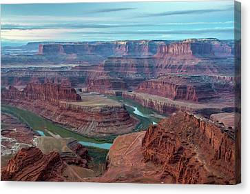 Usa, Utah, Dead Horse Point State Park Canvas Print by Jaynes Gallery