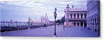 Streetlight Canvas Print - Venice Italy by Panoramic Images