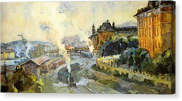 Vladivostok Vintage Prints Canvas Print by Jake Hartz