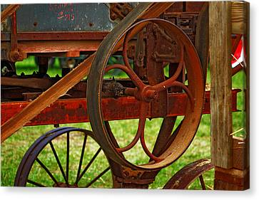 Canvas Print featuring the photograph Wheels Of Time by Rowana Ray