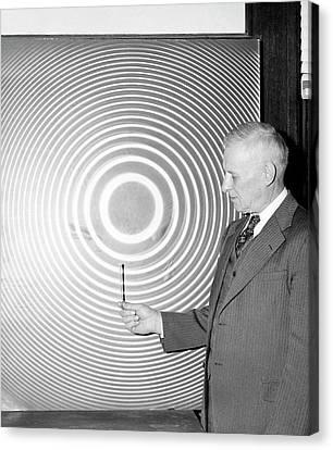 William Meggers Canvas Print by Emilio Segre Visual Archives/american Institute Of Physics
