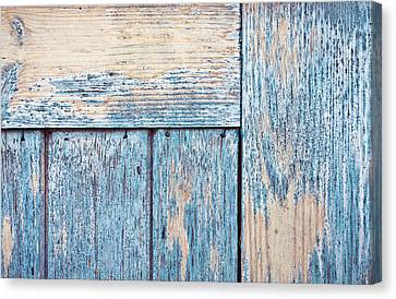 Wooden Background Canvas Print by Tom Gowanlock
