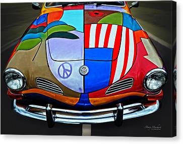 60s Wild Ride Canvas Print